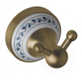 Крючок двойной Bemeta Kera 144706037 цвет бронза