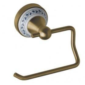 Держатель туалетной бумаги Bemeta Kera 144712027 цвет бронза