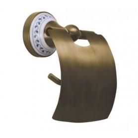 Держатель туалетной бумаги Bemeta Kera 144712017 цвет бронза