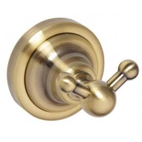 Крючок двойной Bemeta Retro 144106037 цвет бронза