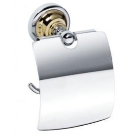 Держатель туалетной бумаги Bemeta Retro 144212018 хром / золото