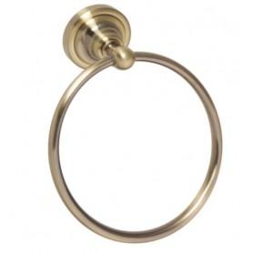 Полотенцедержатель кольцо Bemeta Retro 144104067 цвет бронза