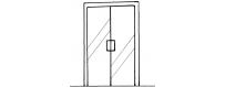 Душевые двери в нишу (двери для душа) купить в Москве от 12156 руб